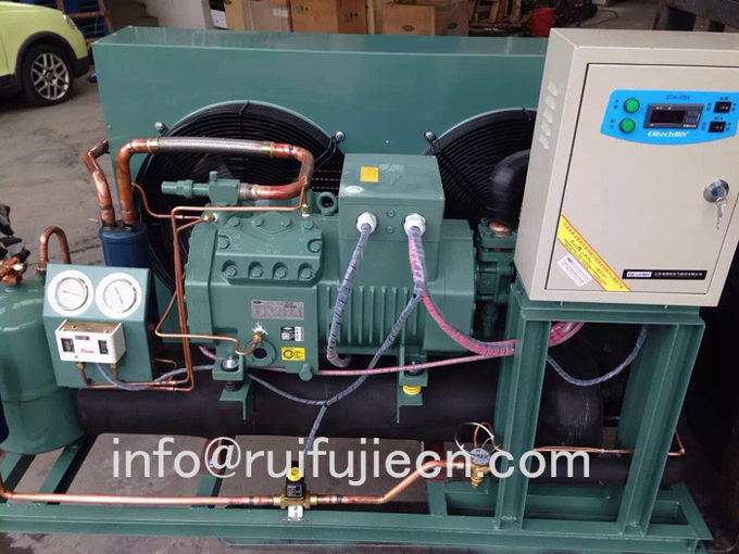 Spb04km Bitzer Compressor Air Cooled Condenser , Cold Room Condensing Unit