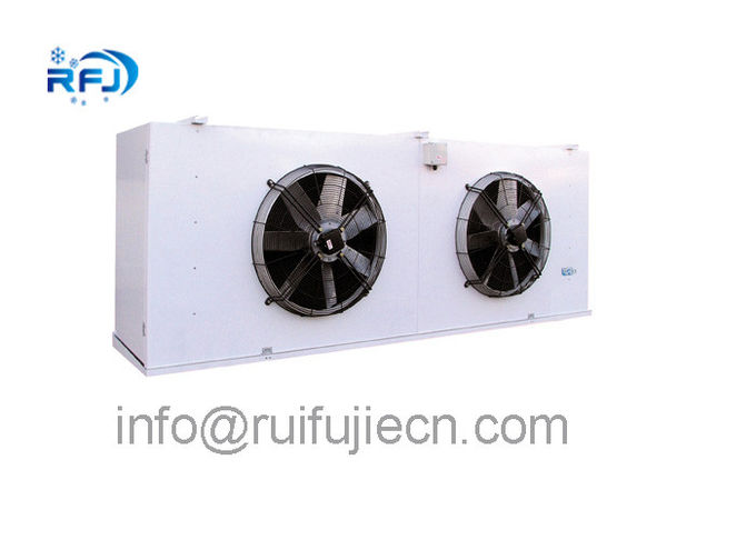 DD-2.8/15 DD Series Air Cooled Condenser In Refrigeration , White / Black