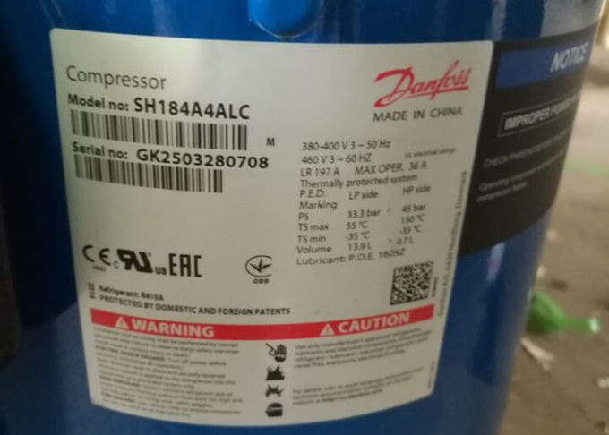 15HP R410A Compressor Danfoss Performer Hermetic Scroll Compressor Sh184A4alc