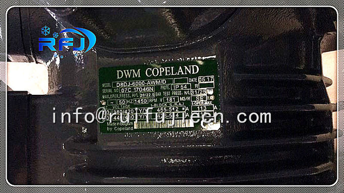 Dwm Copeland Semi Hermetic Piston 60HP Compressor D8DJ-600X