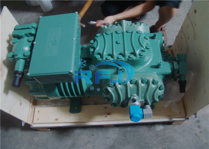 8 Cylinders Bitzer Piston Compressor 8FE-70Y Dual Capacity Control 70HP Power 8FC-70.2Y
