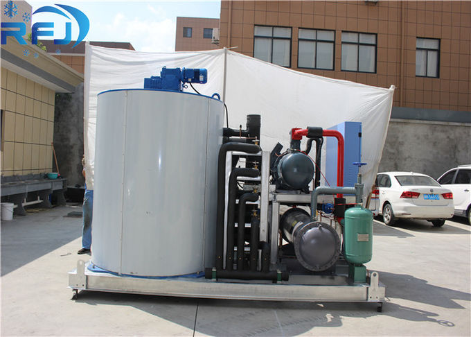 Large Capacity Block Ice Machine Water Cooling Fast Speed Lower Power Consumption
