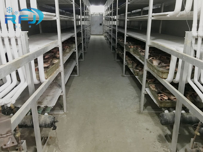 Commercial Industrial Cold Room Walk In Refrigeration Cold Room Volume Exterior