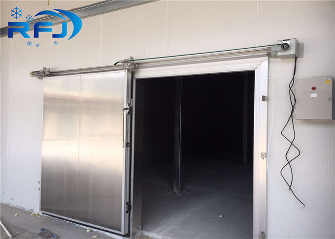Quick Freezing Industrial Cold Room 220V / 380V Customized Size For Vegetables Fruits