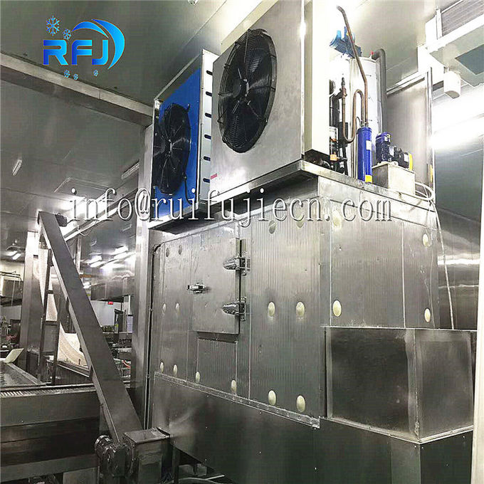 Fresh Water 1-20 Ton Flake Ice Maker Strong Production Capacity R404A Freezing Medium