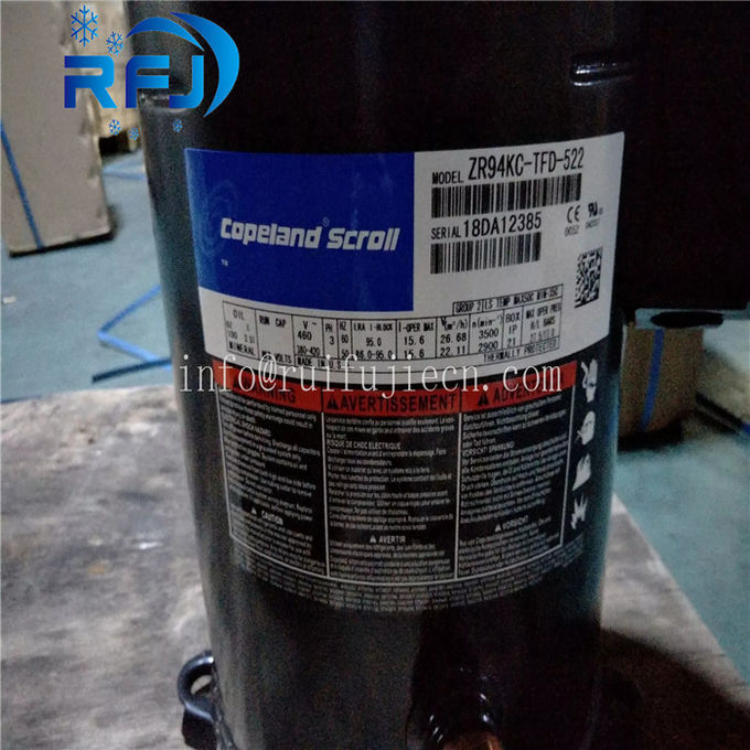 AC Power Copeland Scroll Compressor ZF11KQE-TFD-551 Electric Drive For Cold Room